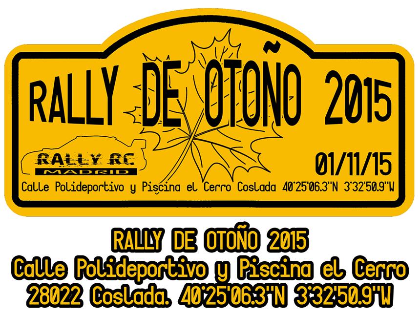 Rally de oto o 2015 rally rc madrid for Piscina coslada