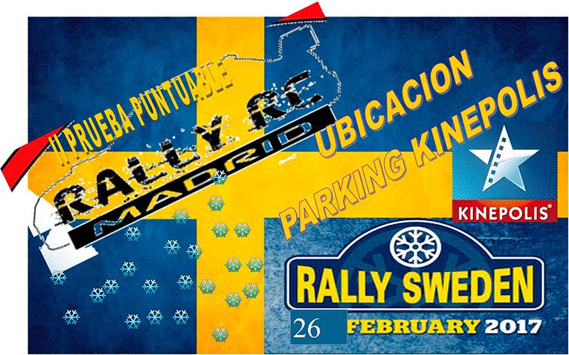 Rally Rc Suecia 2017