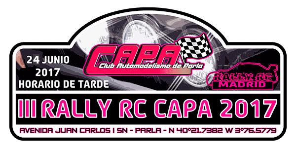 III Rally Rc CAPA 2017