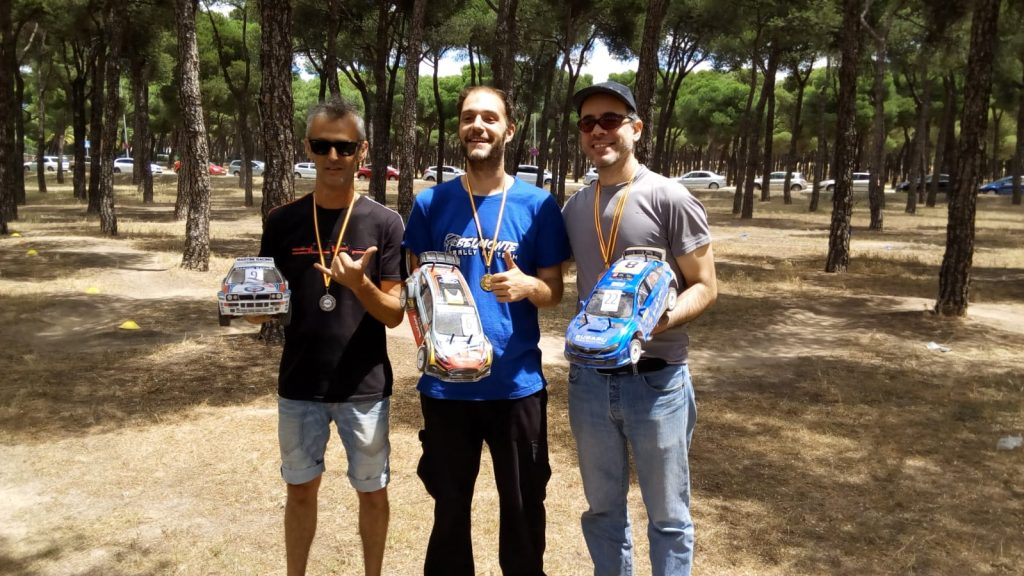 Rally Rc Cerdeña 2018 categoria 4WD