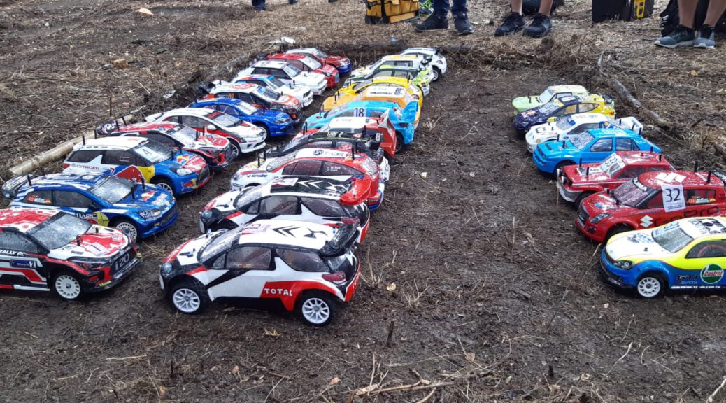 Rally Rc Italia 2021 - Parque cerrado